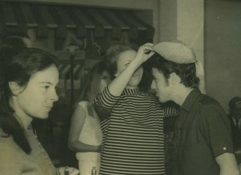 Calouro de Jornalismo da Famecos em 1968