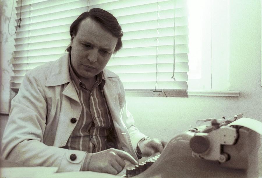 Gonzalez, editor de polícia na Folha da Tarde no tempo da Olivetti