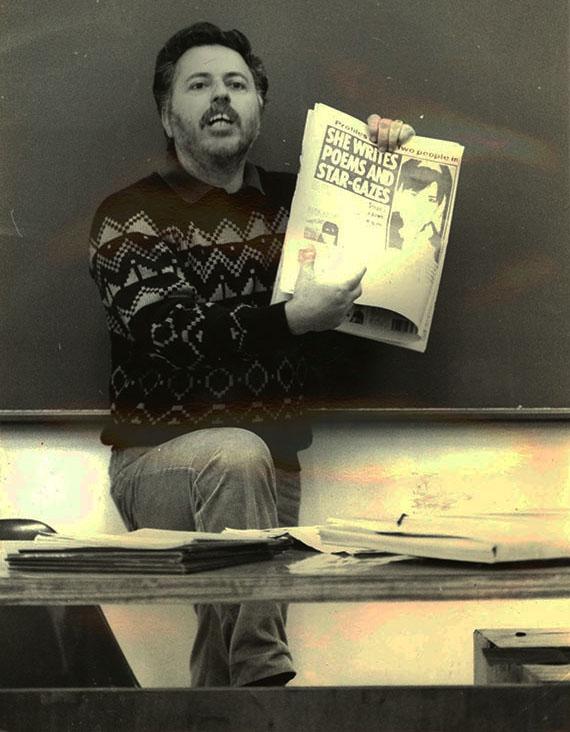 Professor da Famecos de 1º de março de 1977 a 6 de março de 2017 (Arquivo Pessoal)